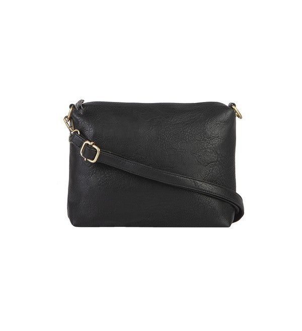 MALLORY 3PC SET, TOTE W/ BONUS BAG & RFID POUCH: Black