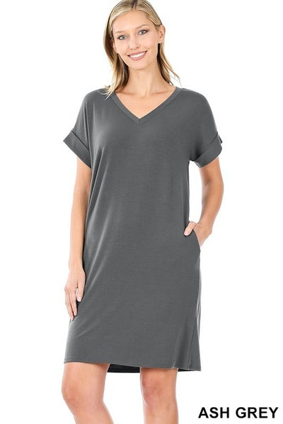 Casual Everyday Dress Sm- 3X