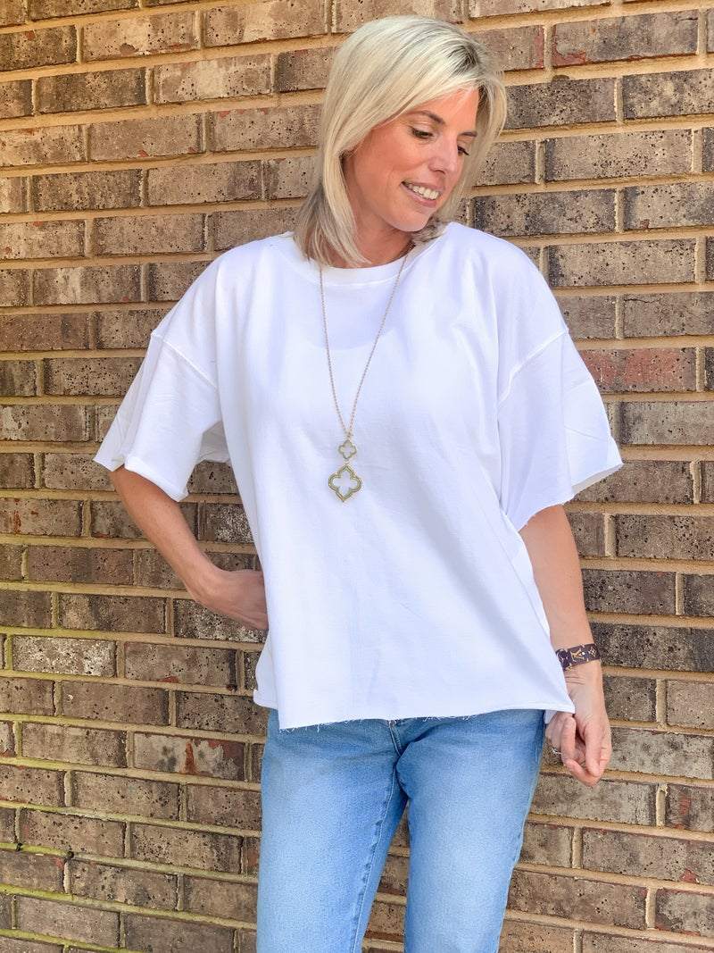 Edge of Perfection Relaxed Fit Top