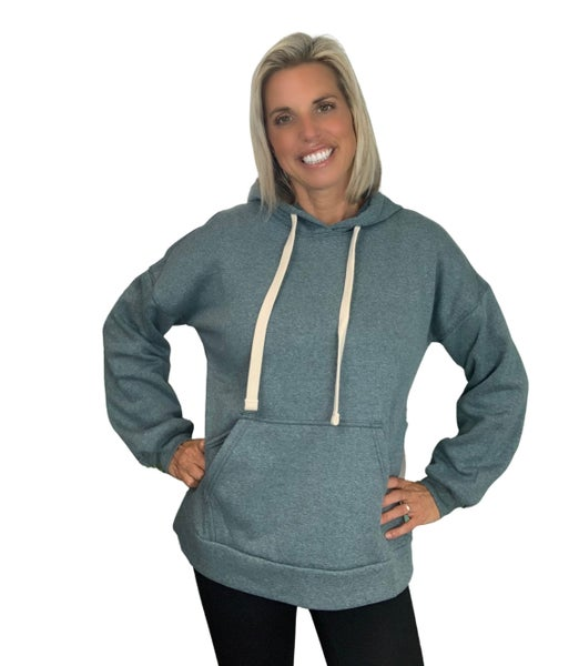 I got you babe Sweatshirt : Grey & Green