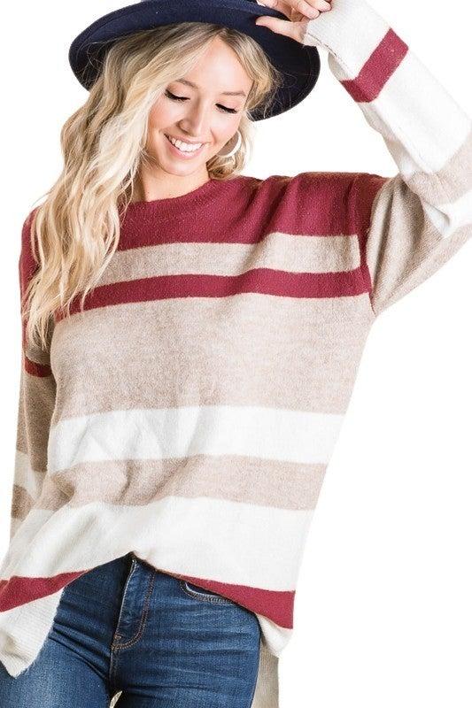 Romeo Stripe Sweater