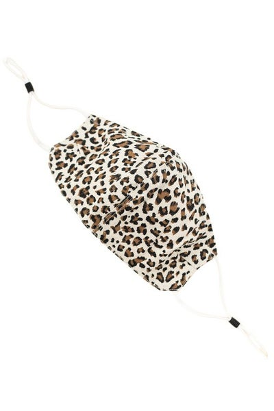 Adult Cream Leopard Adustable *Final Sale*