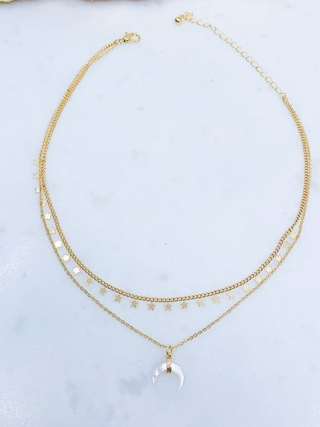 Landslide Two Tiered Necklace