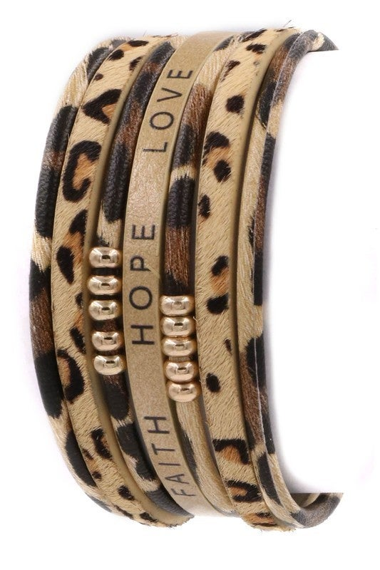 Hope Love Magnetic Bracelet