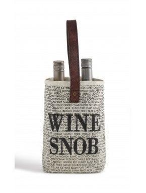 Wine Snob Dbl Wine Holder