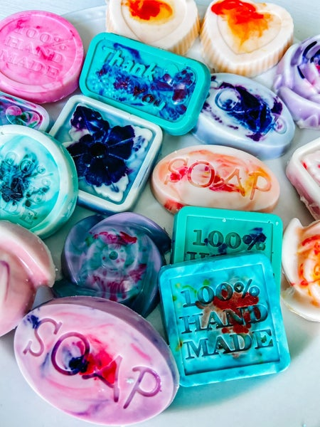 Big Cat & Moon Tie Dye Mystery Soaps 3 Pack