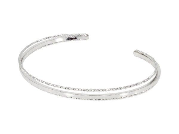 Erimish Barred Cuff Silver