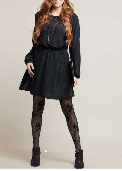 Savvi Black Broadway Dress