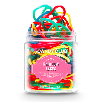 Candy Club Rainbow Laces Small