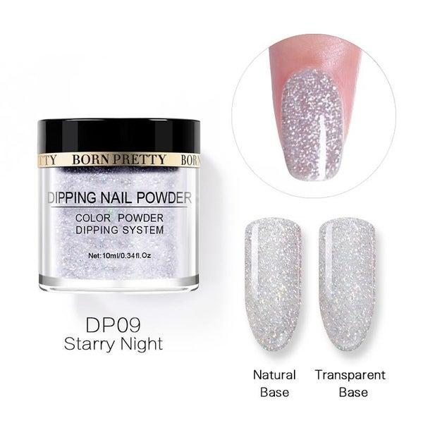Born Pretty Dipping Nail Powder - Starry Night