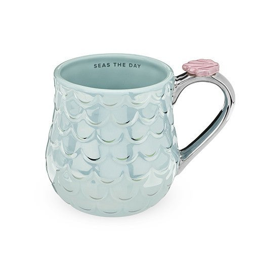 Mermaid Blue Coffee Mug