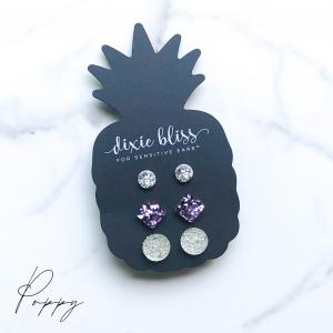 Dixie Bliss Earrings Poppy