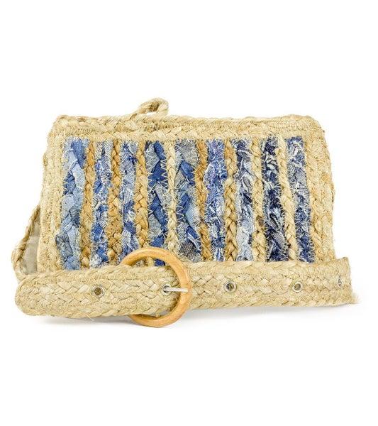 Straw Waist Bag Fanny Pack