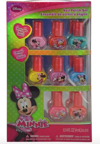 Minnie 8 Pack Nail Polish