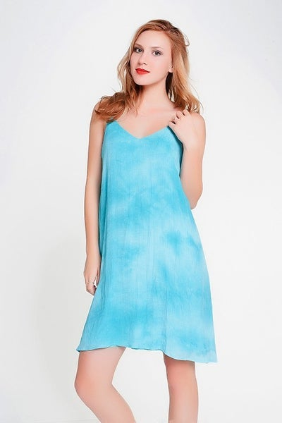 Papermoon Turquoise Slip Dress