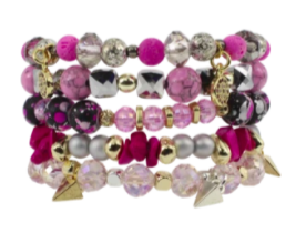 Erimish Hepburn Bracelet Stack
