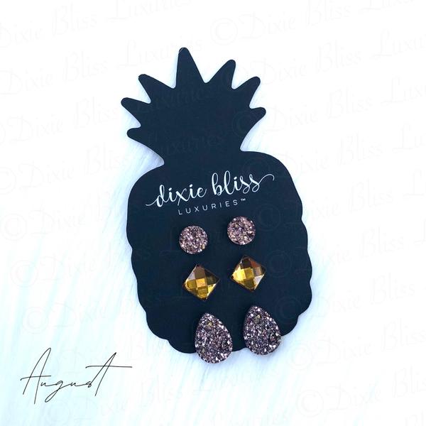 Dixie Bliss Earrings August