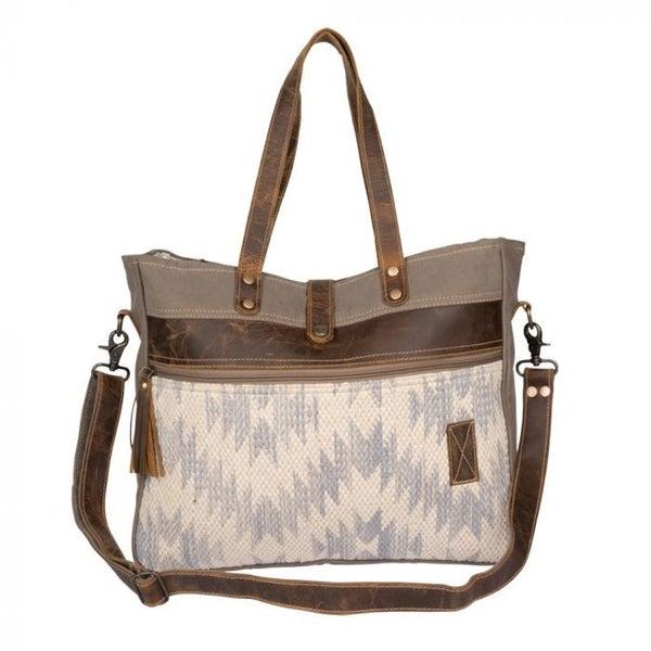 Myra Charming Brown Weekender Bag