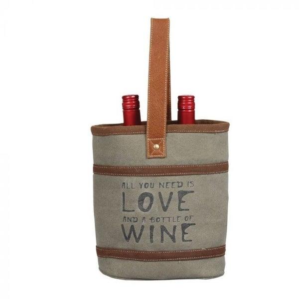 Myra Bag Wine and Love Double Wine Bag