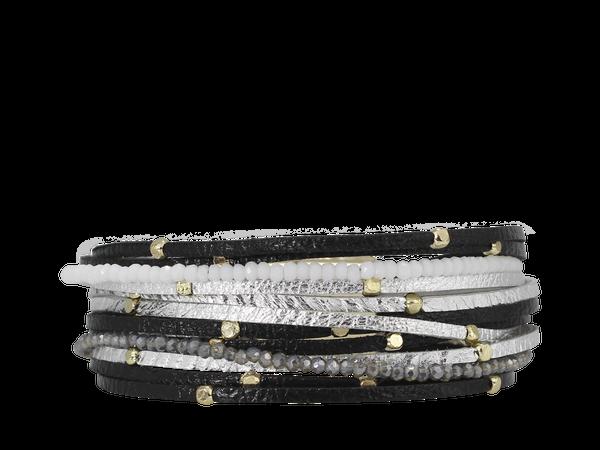 Erimish Stockton Tuxedo Magnetic Bracelet
