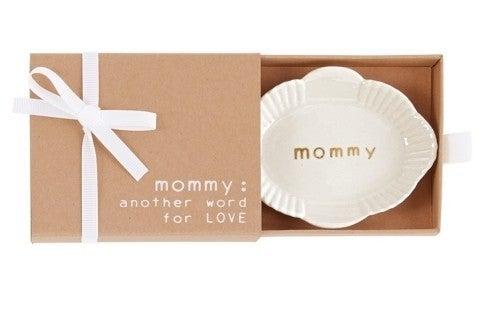 Mom Oval Mini Trinket Dish