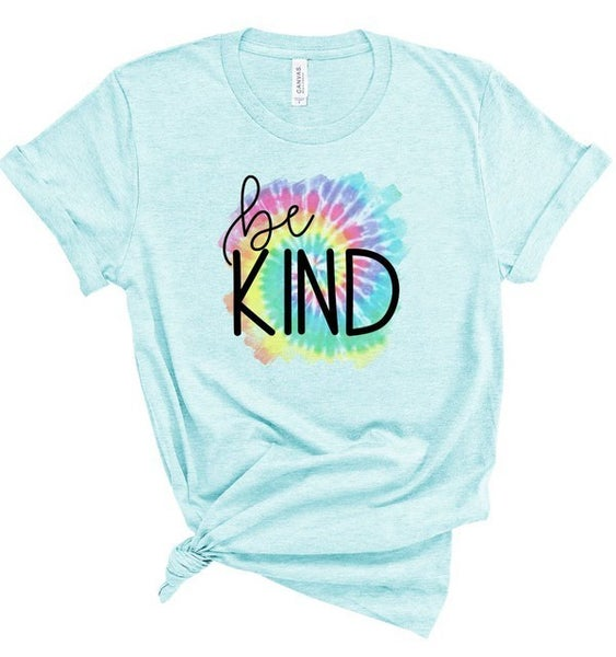 Tie Dye Be Kind Graphic Tee