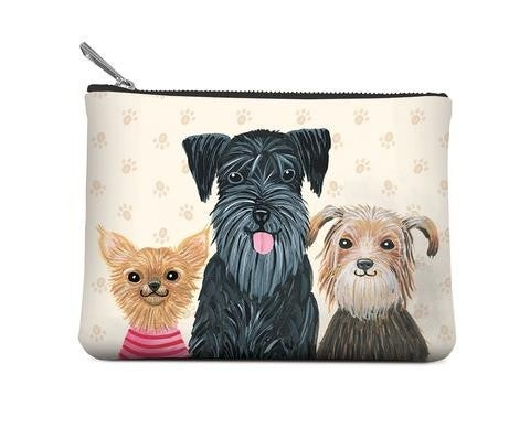 Doggone Cute Small Zippered Pouch