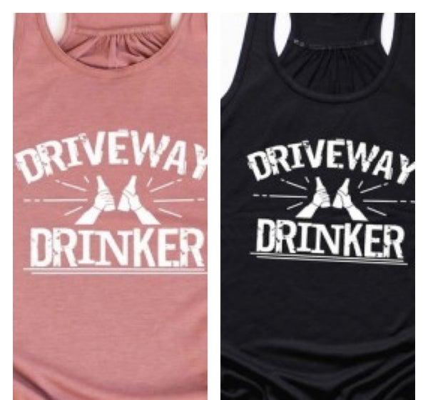 Driveway Drinker Graphic Tank