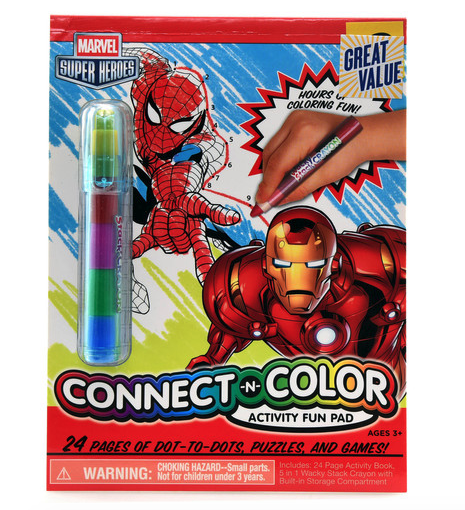 Marvel Connect and Color Fun Pad