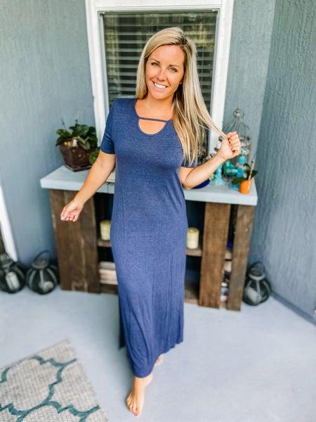 CY Fashion Washed Maxi Dress