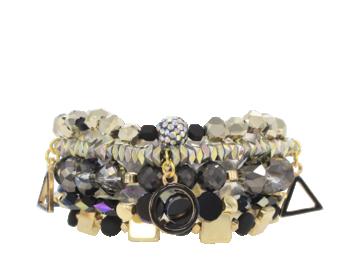 Erimish Onyx Bracelet Stack