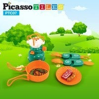 Picasso Tiles Pretend Play Camping Set