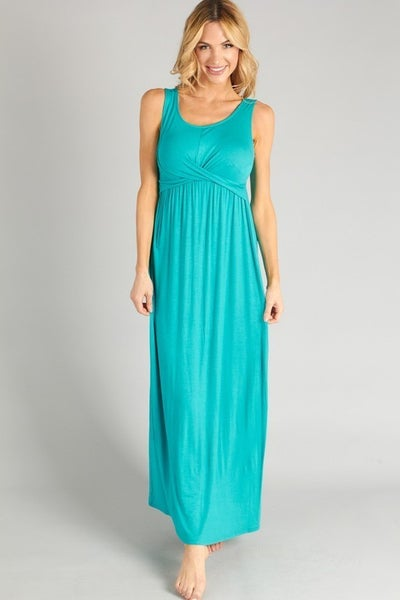 P.S. Kate Jade Solid Maxi Dress