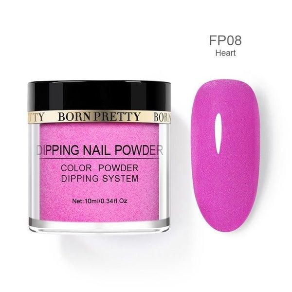 Born Pretty Dipping Nail Powder - Heart
