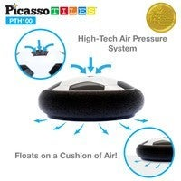 Picasso Tiles Electric Power Air Hover Soccer Ball