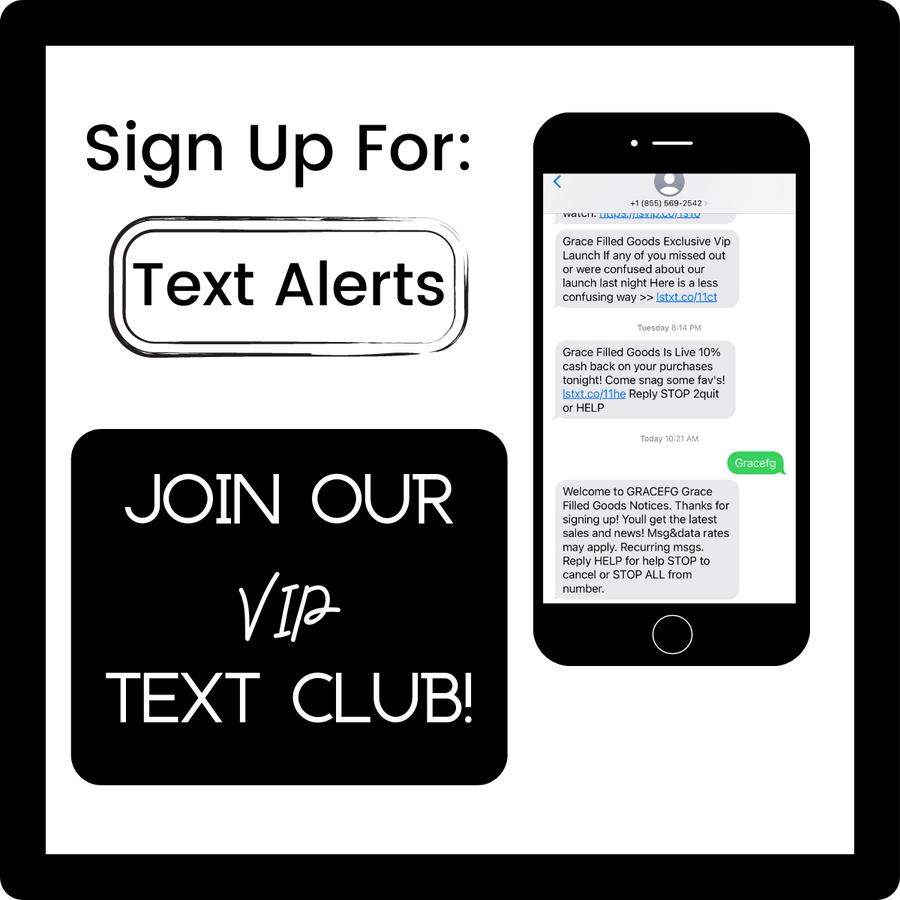 Text Alerts Signup