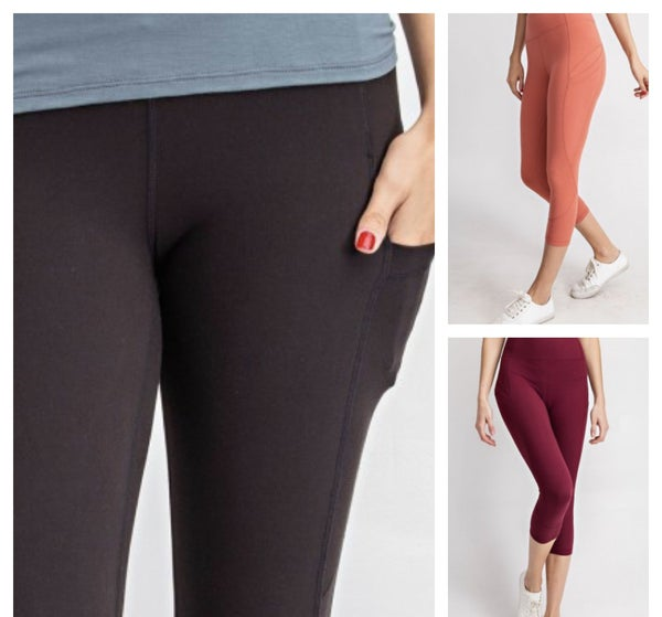 Rae Mode Solid Buttery Soft Leggings