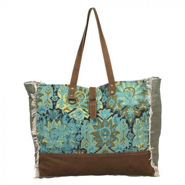 Myra Aqua Magic Weekender Bag
