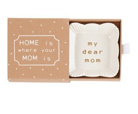 Mom Square Mini Trinket Dish