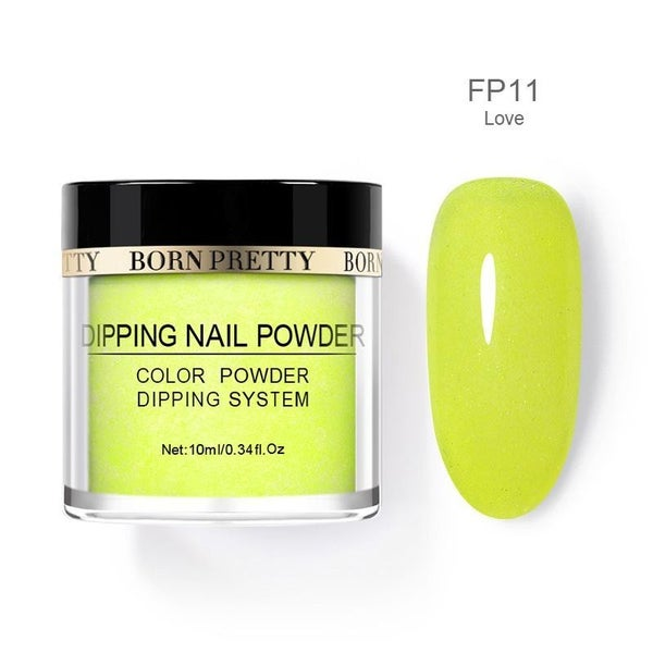 Born Pretty Dipping Nail Powder - Love