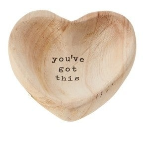 You've got this Wood Trinket Dish