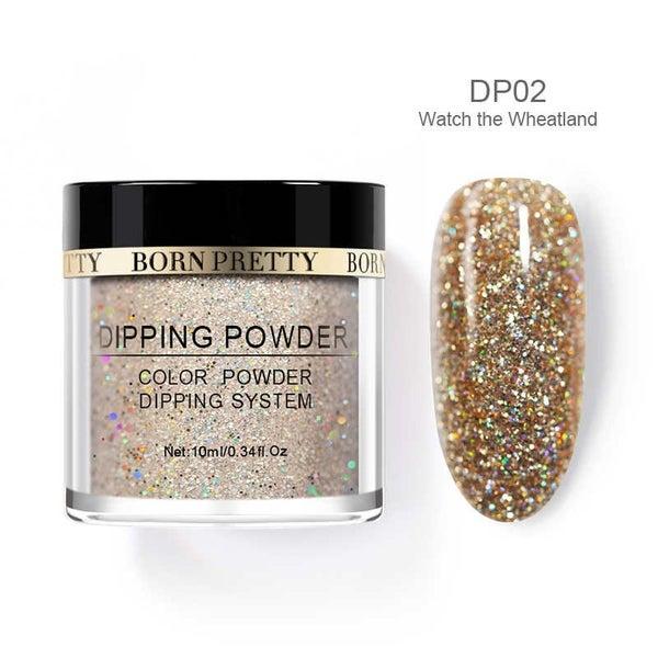 Born Pretty Dipping Nail Powder - Wheat