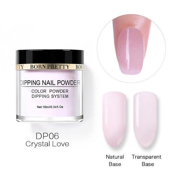 Born Pretty Dipping Nail Powder - Crystal Love