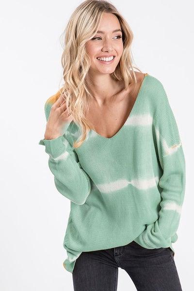 BiBi Tie Dye Tunic Sweater
