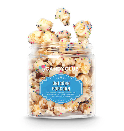 Candy Club Unicorn Popcorn Small