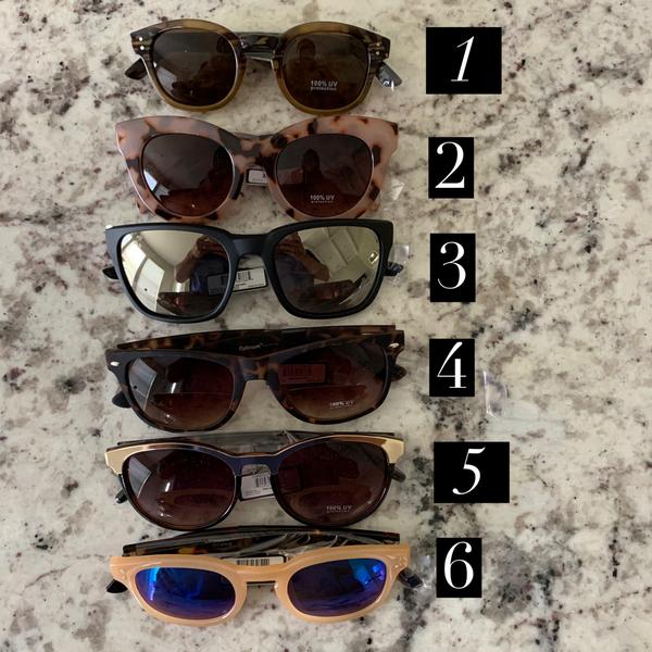 Optimum Optical Sunglasses Batch 1