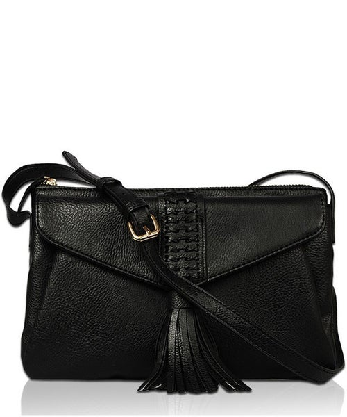 Black Elegant Fashion Clutch and Cross Body Bag