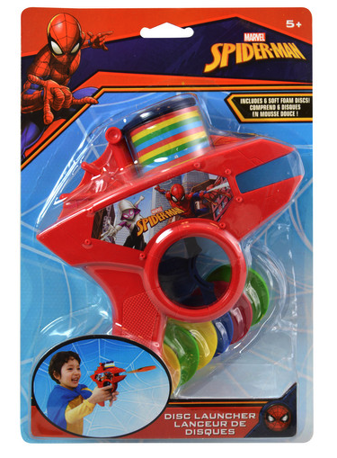 Spiderman Foam Disc Gun