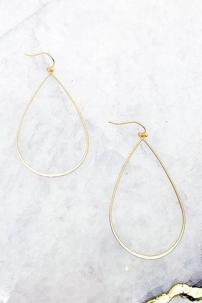 Teardrop Drop Earrings