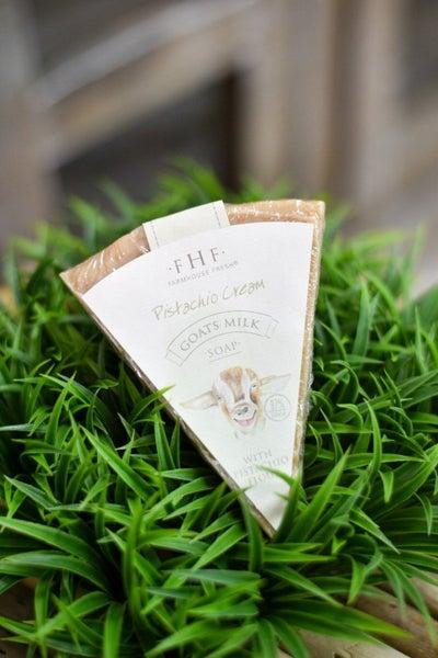 Pistachio Cream Milk Soap